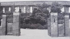 総合高校時代の正門