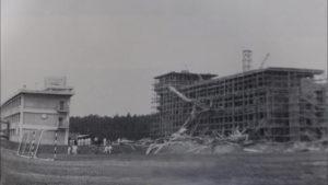 建設中の北館