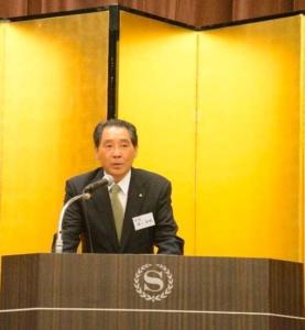 瀬川会長による本部の活動報告